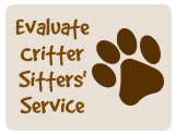 Submit Your Evaluation to Critter Sitters